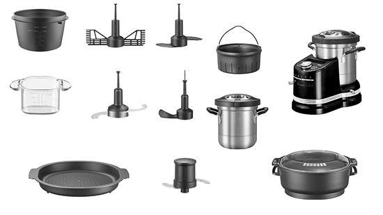 accesorios robot de cocina