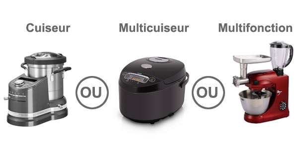 difference robot patissier, robot multifonction, robot multicuiseur