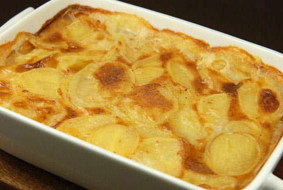 gratin de pommes de terre