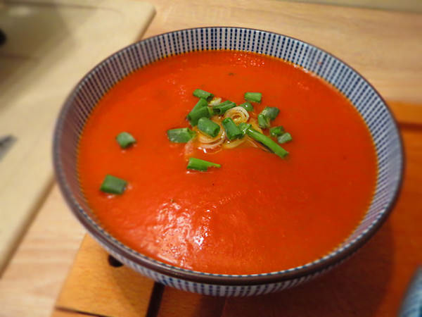 soupe froide tomate